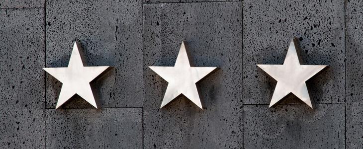 bilde av tre stjerner