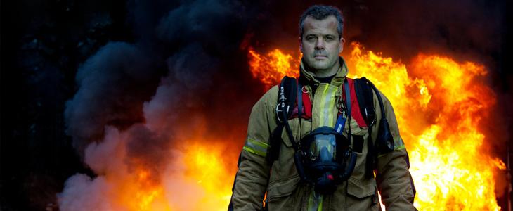 Bilde av en brannmann