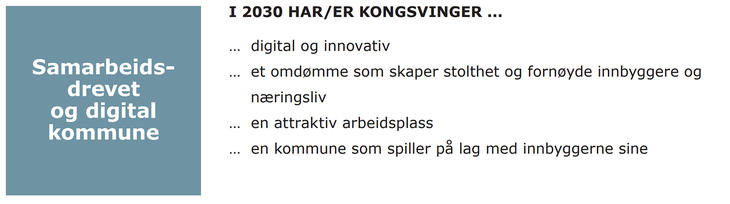 Bilde av samarbeidsdrevet og digital kommune