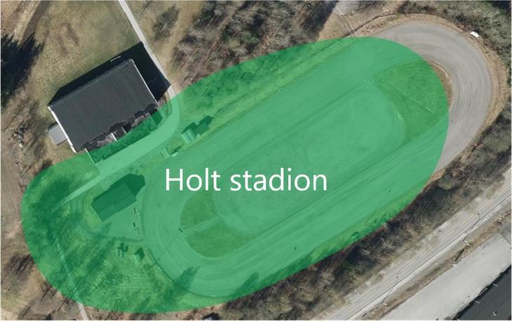 Kart Holt stadion