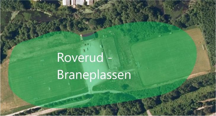 Kart Roverud - Braneplassen