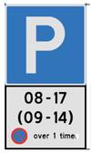 Bilde av et parkeringsskilt